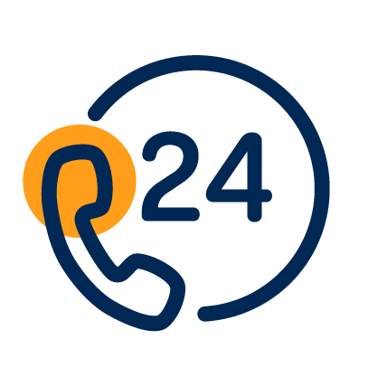 24/7 phone support