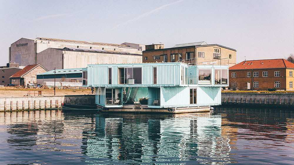 Shipping container apartments – the future of student housing?