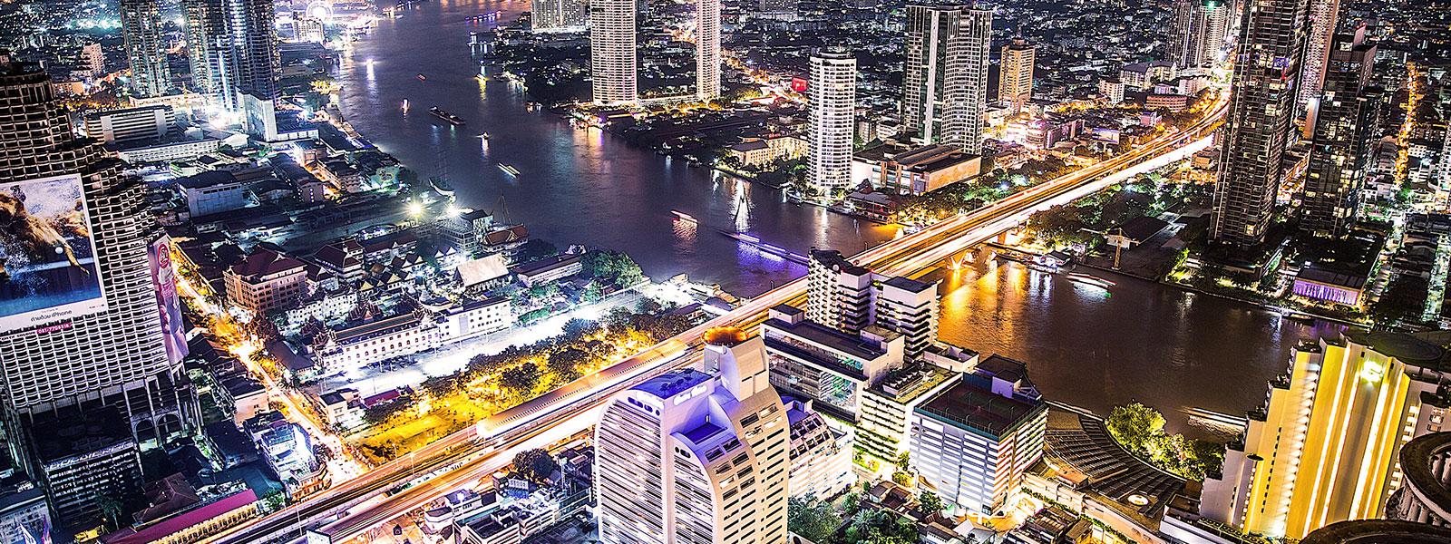City lights, Thailand