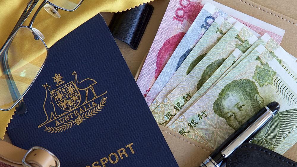 passport, money, tax