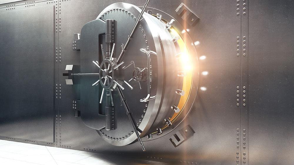 vault, transfer money
