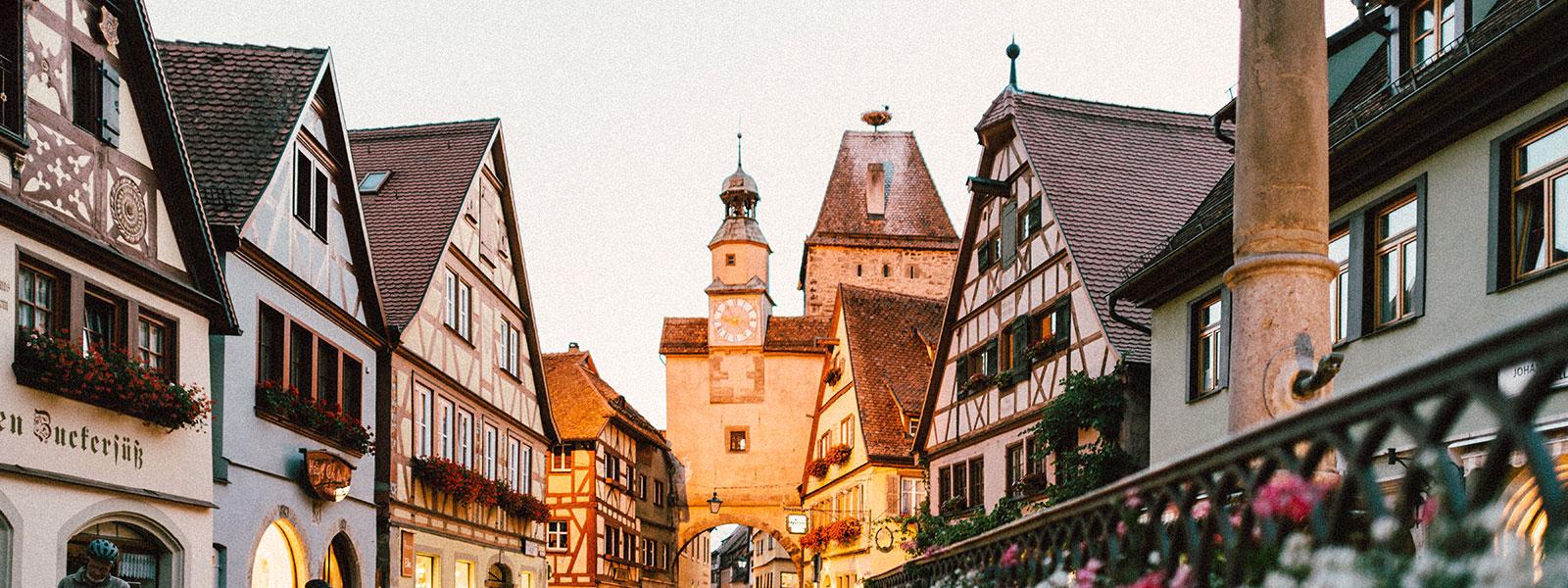 Street in Germany