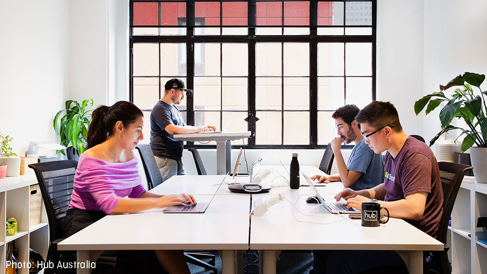Coworking spaces are a collaborative way for people to do business