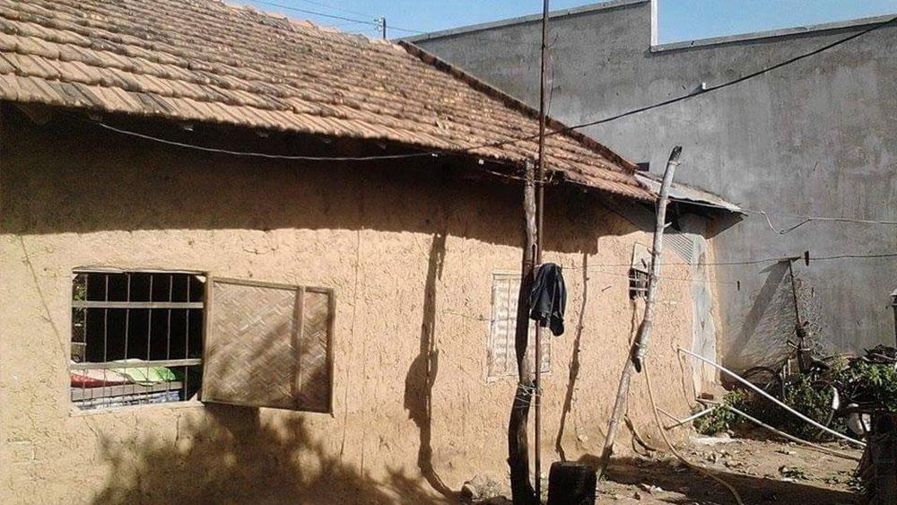 The mud hut